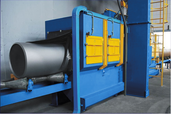 QGN型/QGW型钢管内外壁抛丸机系列
