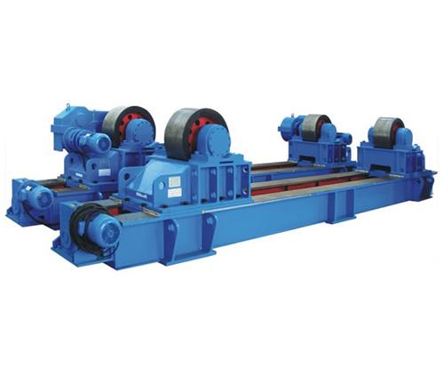 电动丝杆可调式滚轮架