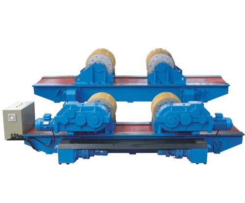 液压组对式可调式滚轮架(顶升式)