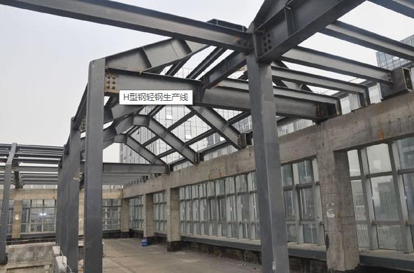 洲翔H型钢轻钢生产线为何如此大卖?