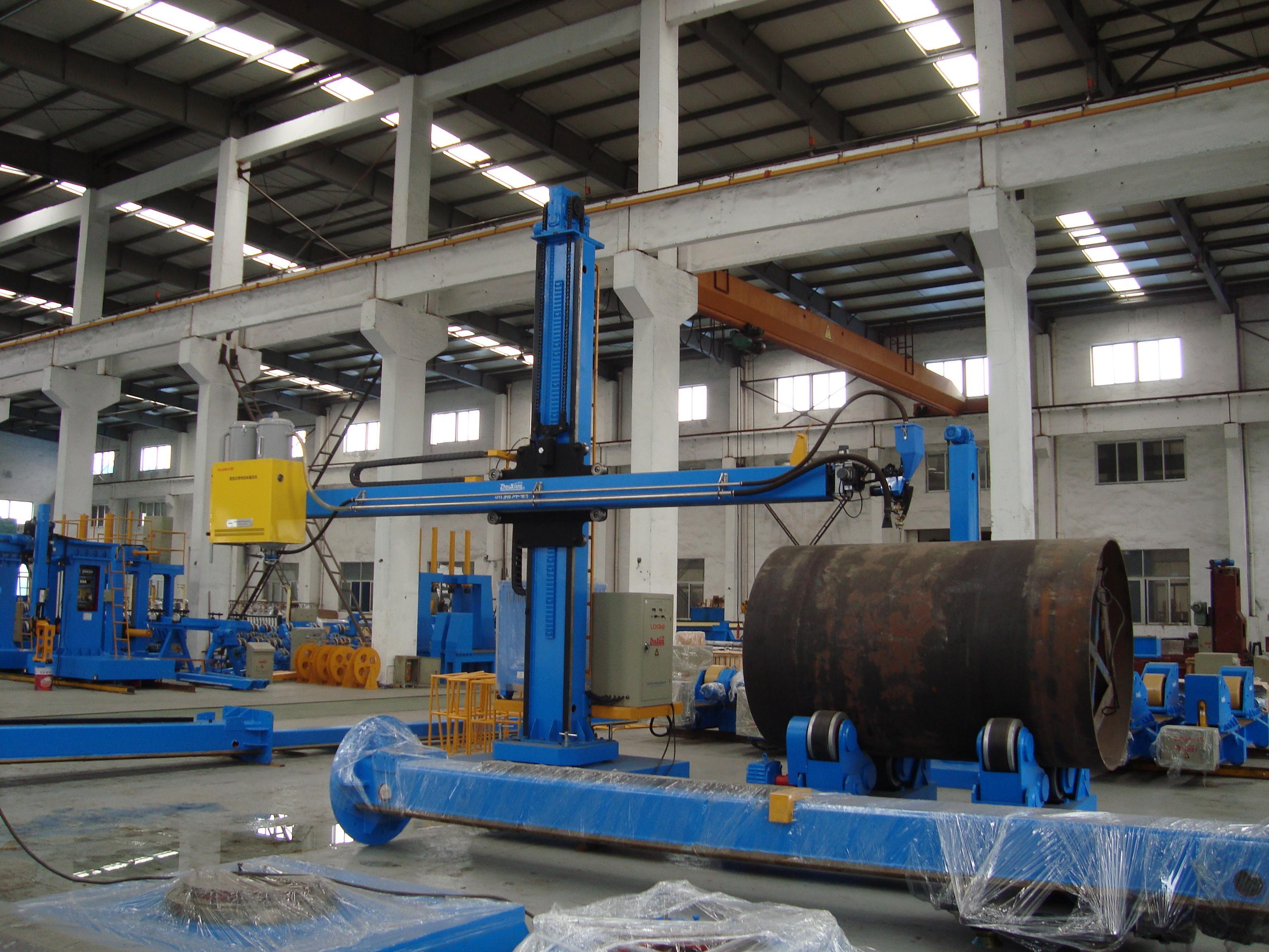焊接操作架可以单独作业吗?用来焊接压力容器