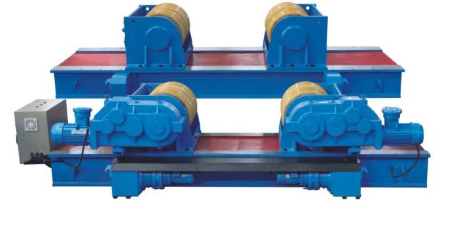 圆筒体的直径大概3500mm,要用大吨位滚轮架还是小吨位滚轮架?