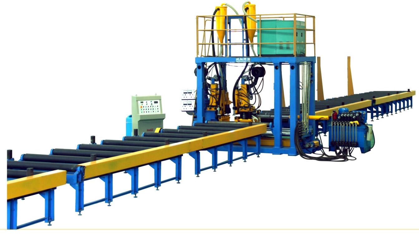 工字钢—洲翔卧式生产线