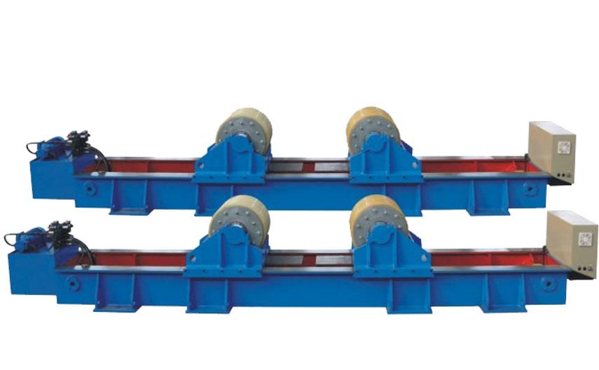 液压组对式可调式滚轮架(平移式)