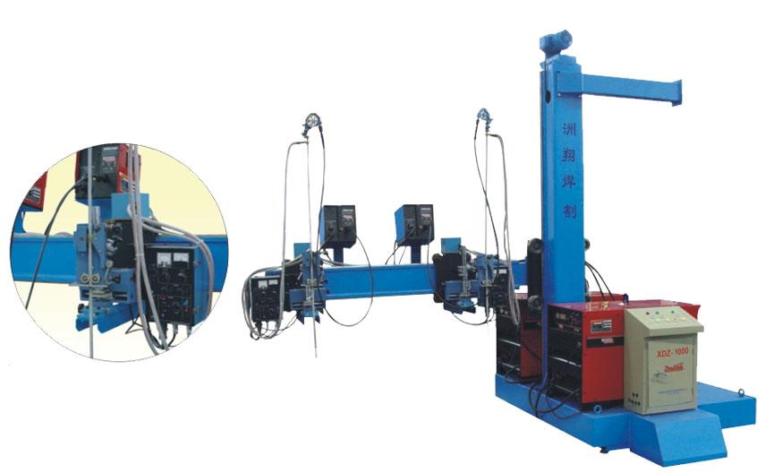 5.悬臂式熔丝式电渣焊