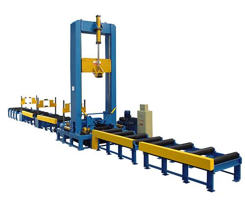 2.H型钢重型组立机